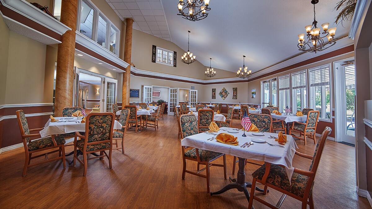 Ashton Place dining room