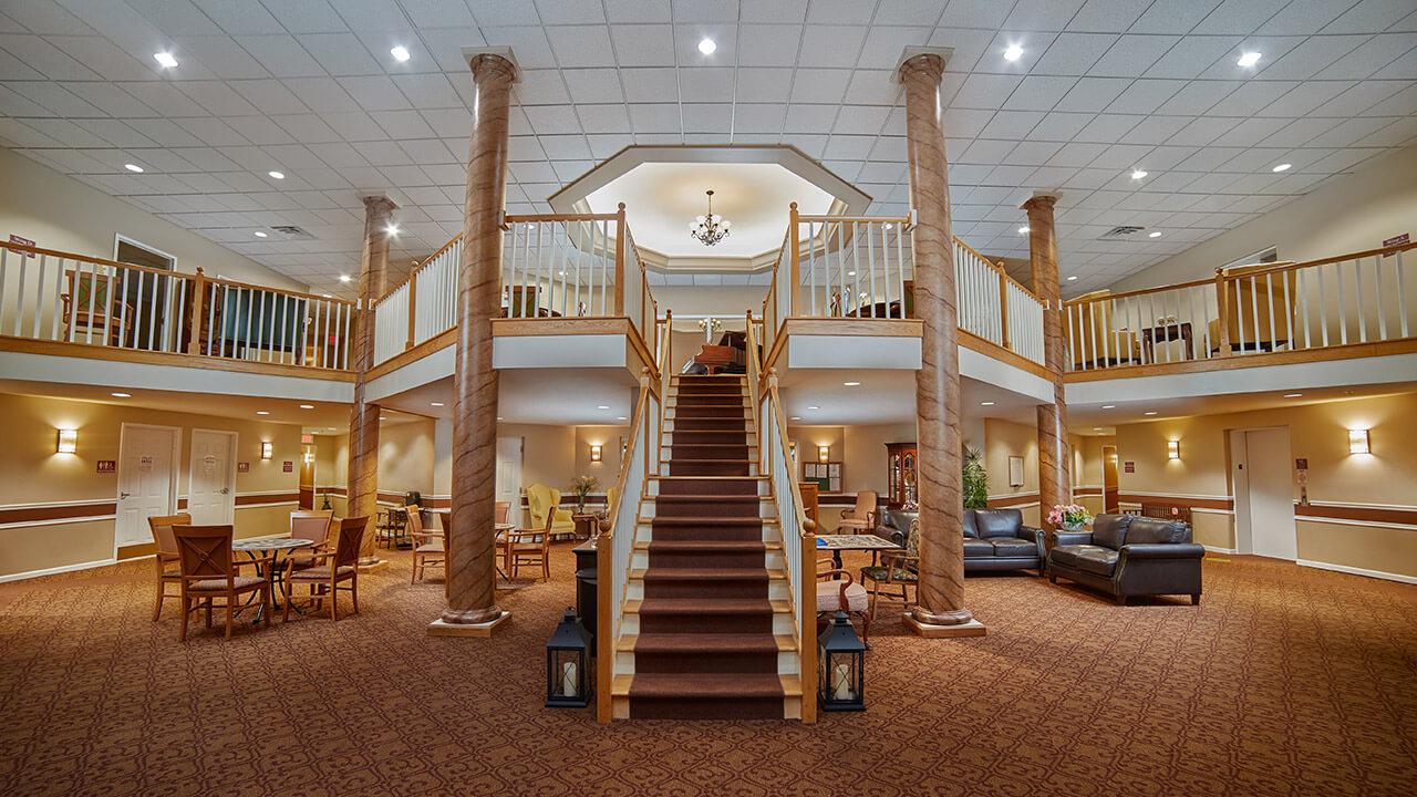 Ashton Place foyer