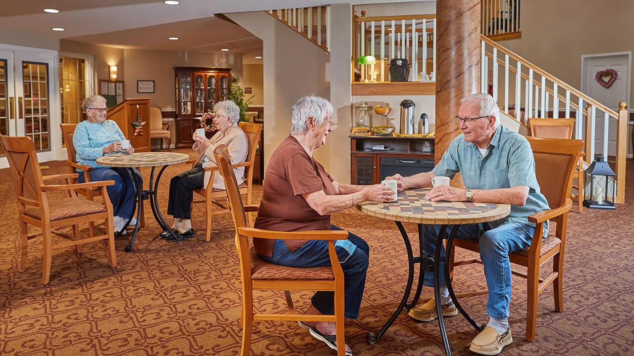 Ashton Place residents