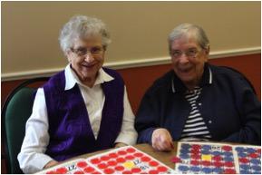 Residents Enjoy Some Games